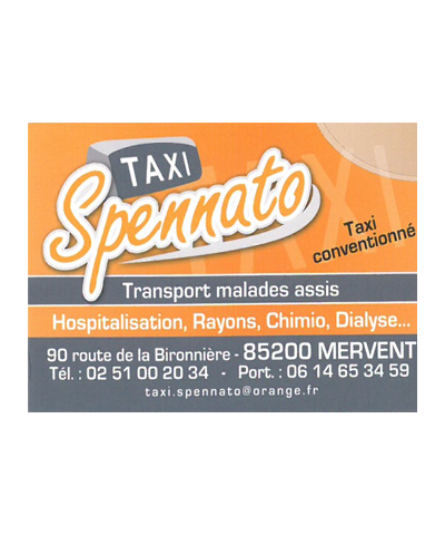 Taxi Merventais Spennato